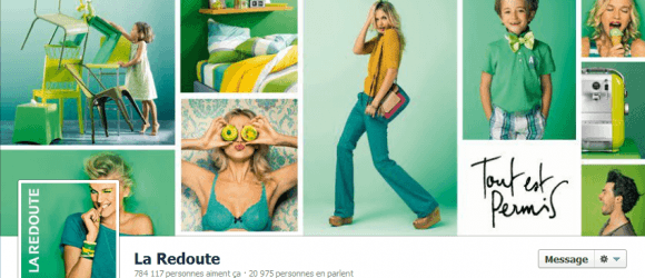 Capture facebook la redoute