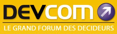 Logo 8ème édition Devcom Lyon