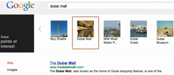 Knowledge graph Google