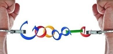 Poignets enchainés par Google