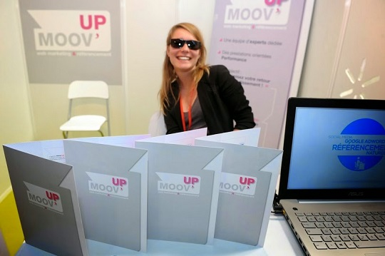 Moov'up au salon Connec'sud à Montpellier