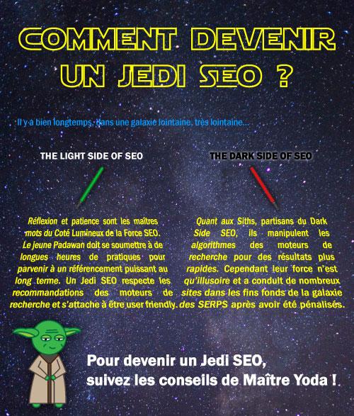 Comment devenir un Jedi SEO ? L'infographie !
